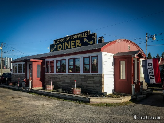 Lloyd's Diner in Lowville, New York. Photo by Michael Kleen