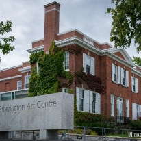 Etherton Art Centre at Queen's University at Kingston, Ontario. Photo by Michael Kleen