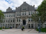 Gordon Hall at Queen's University at Kingston, Ontario. Photo by Michael Kleen