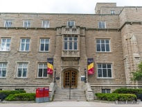 Deutsch University Centre at Queen's University at Kingston, Ontario. Photo by Michael Kleen