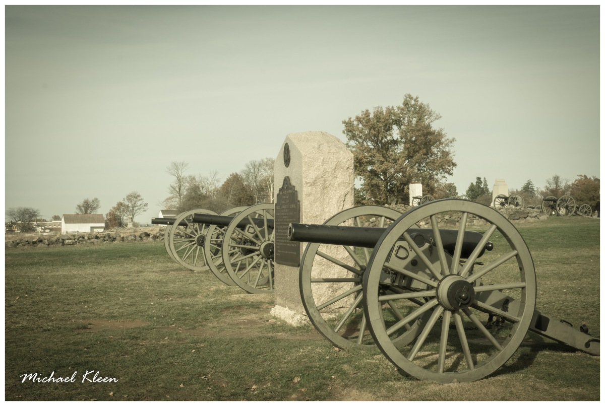 Faux-Vintage Photos from Gettysburg