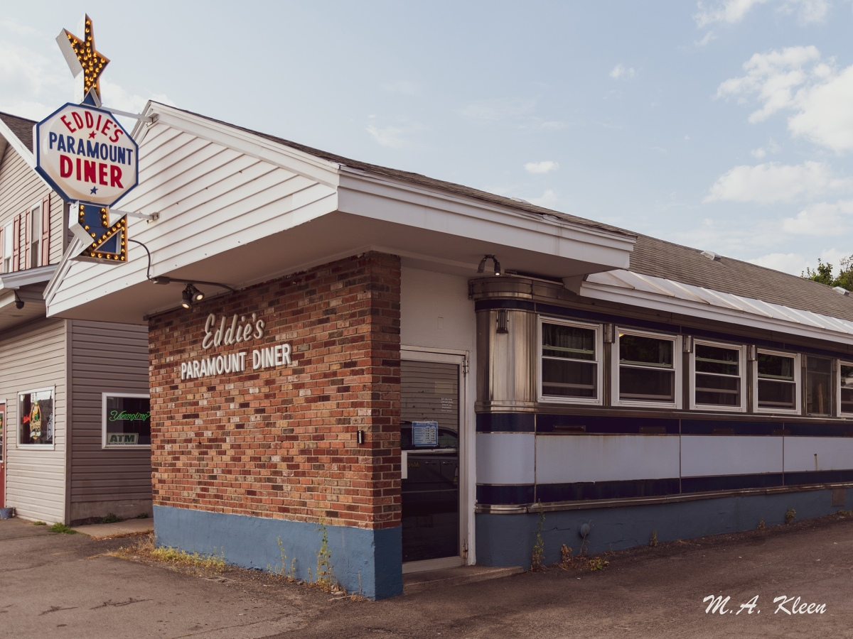 Eddie's Paramount Diner in Rome, New York