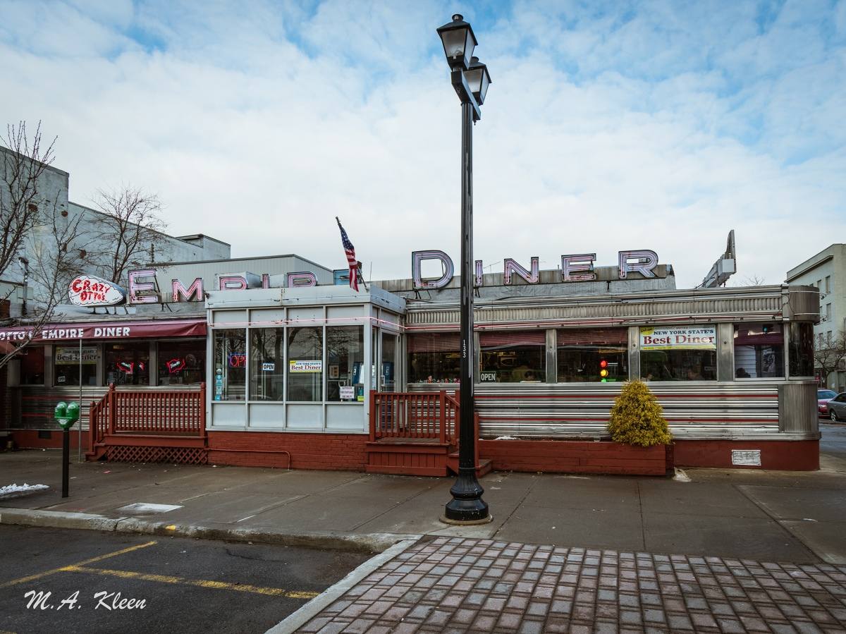 Crazy Otto's Empire Diner in Herkimer, New York