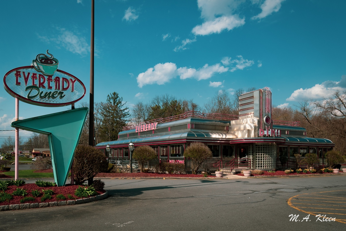 Eveready Diner in Hyde Park, New York