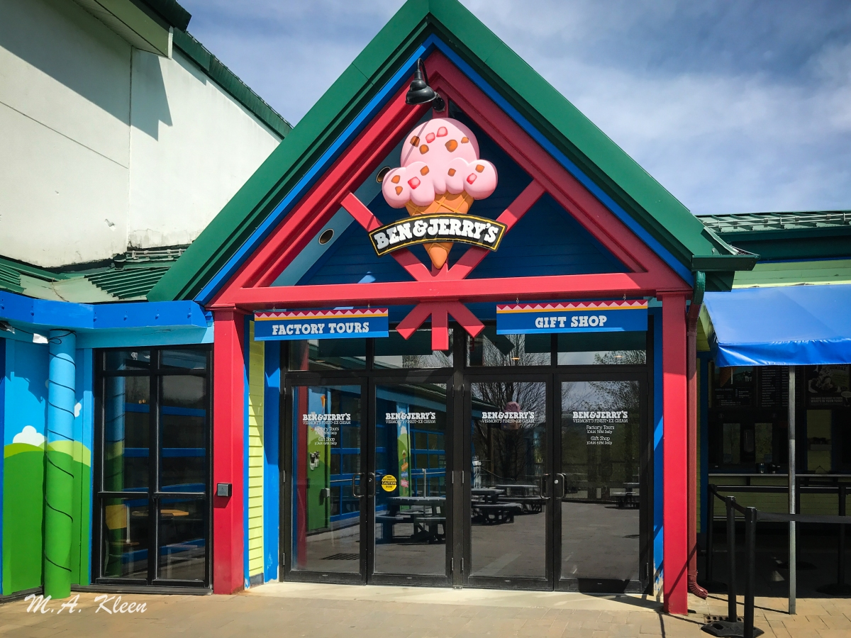 Ben & Jerry's Factory in Waterbury, Vermont