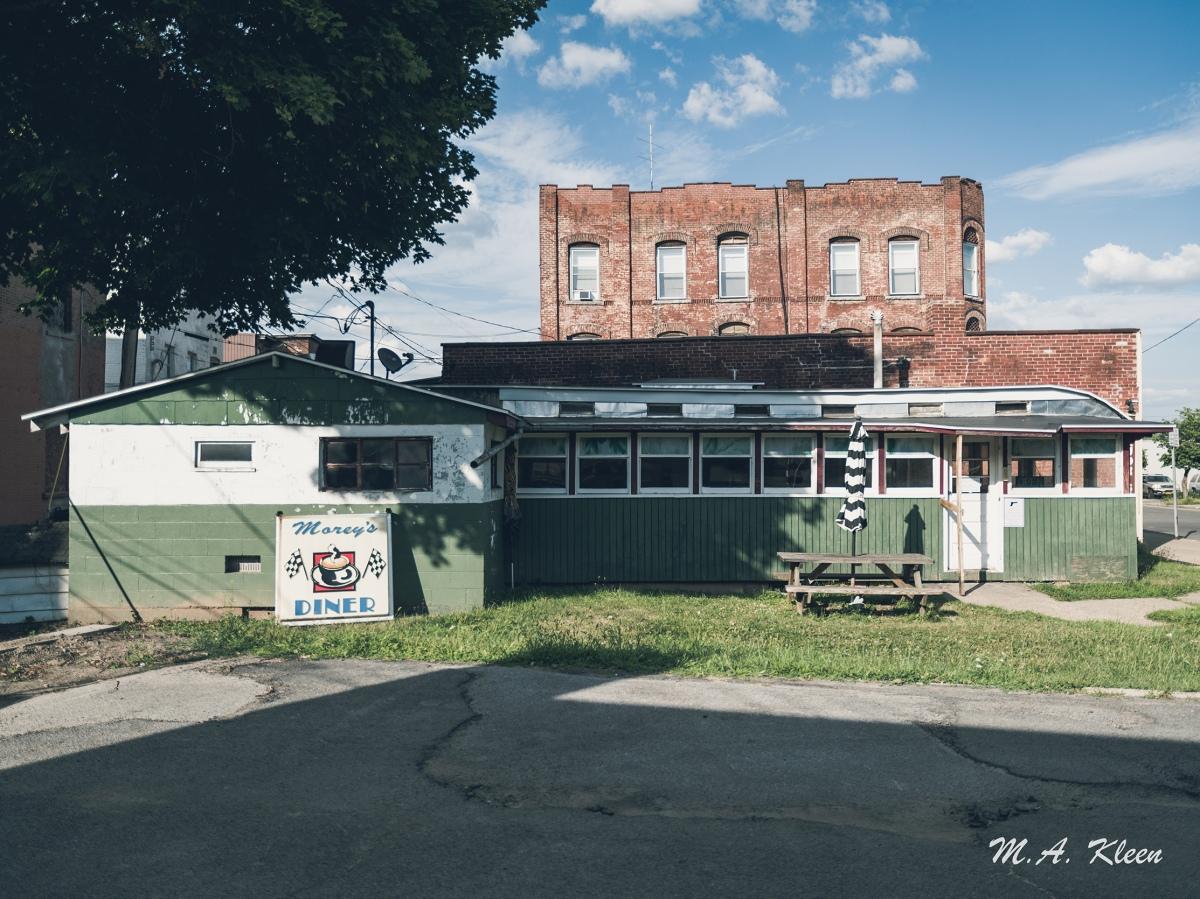 Morey's Diner in Oneida, NewYork