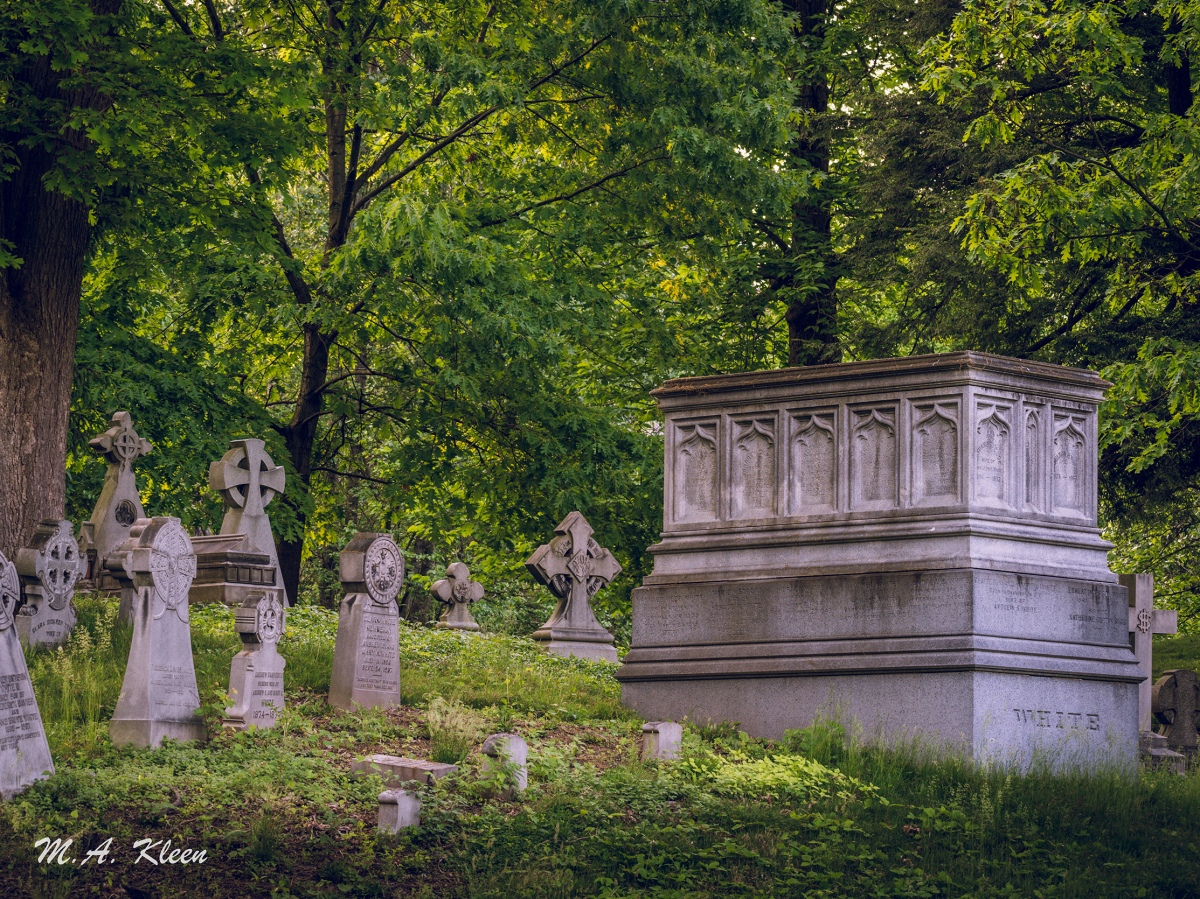 Oakwood Cemetery in Syracuse, New York