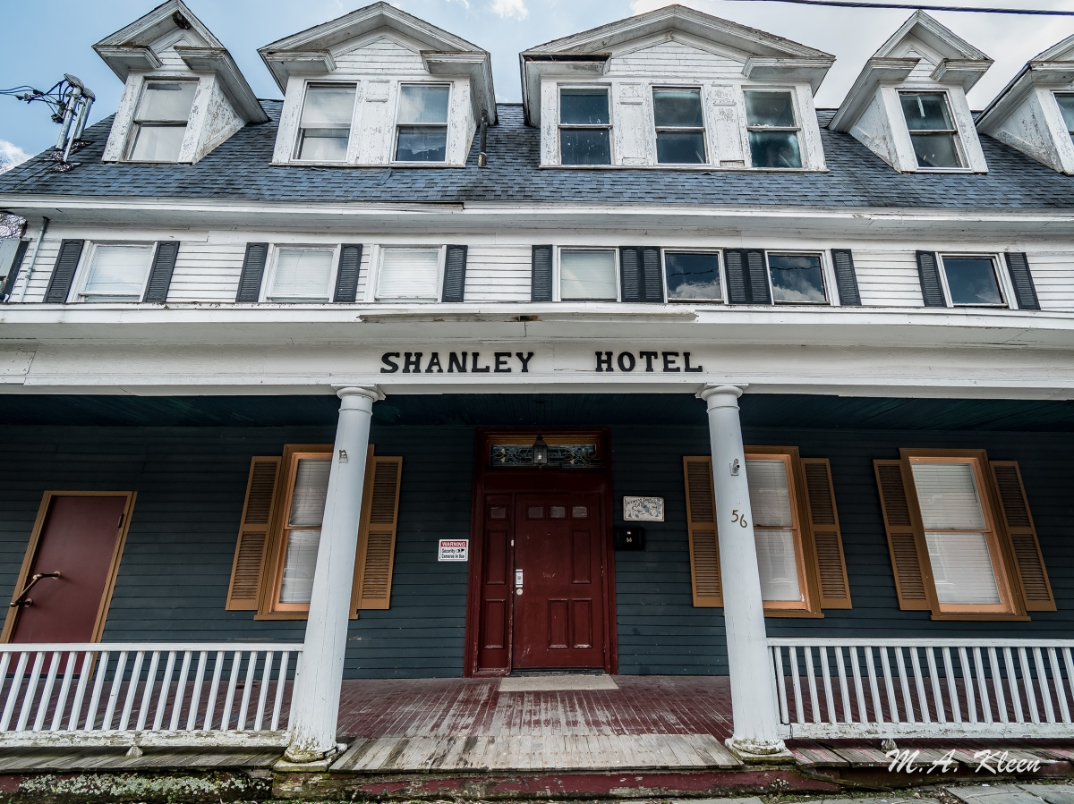 Shanley Hotel in Napanoch, New York