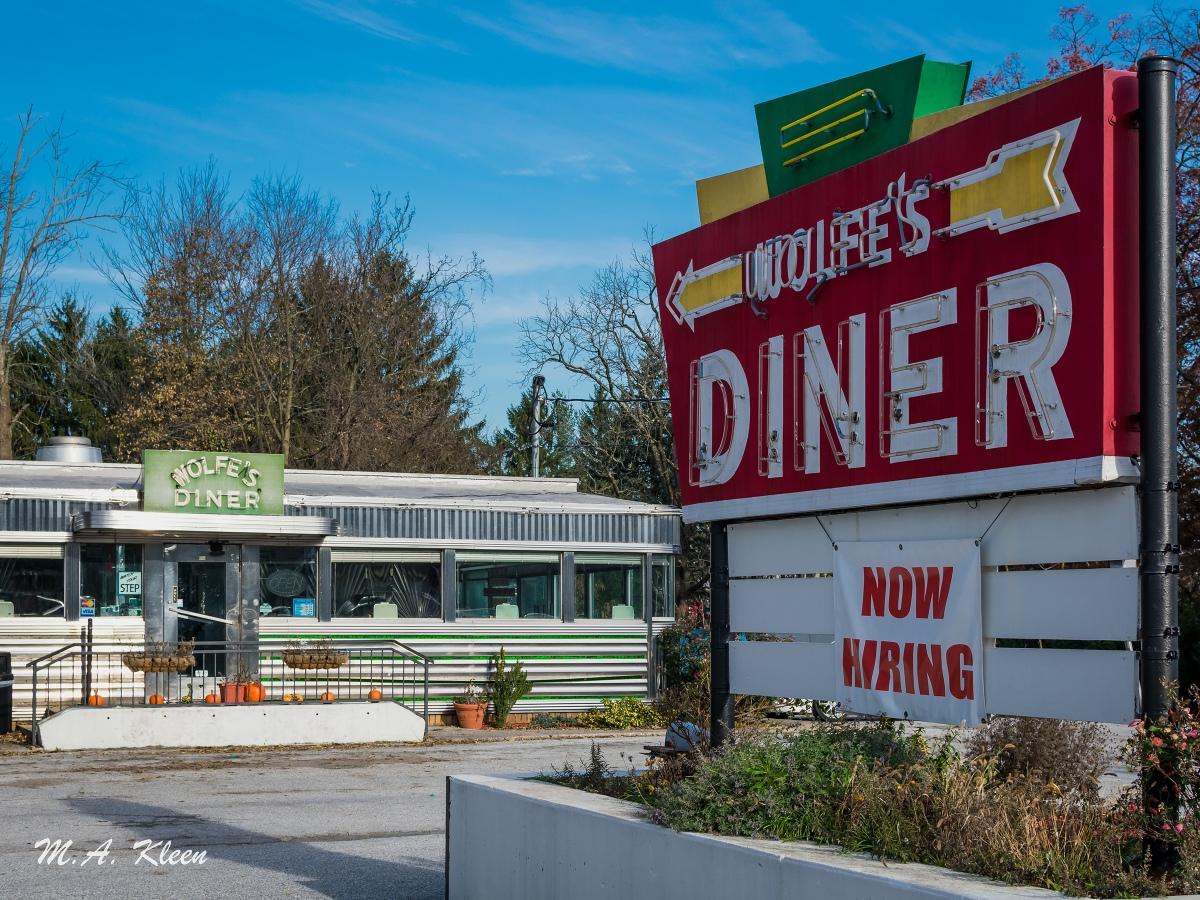 Wolfe's Diner in Dillsburg,Pennsylvania