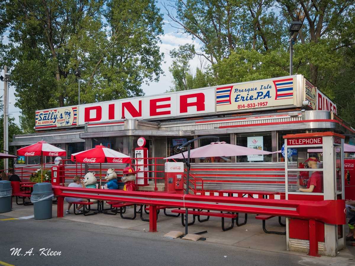 Sally's Diner in Erie, Pennsylvania