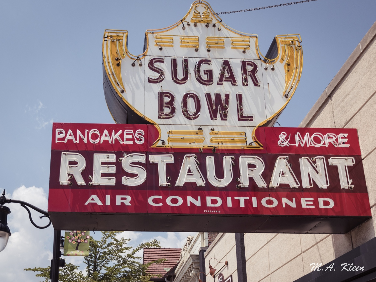 Sugar Bowl Vintage Sign