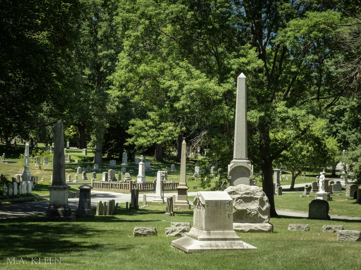 Swan Point Cemetery in Providence, Rhode Island