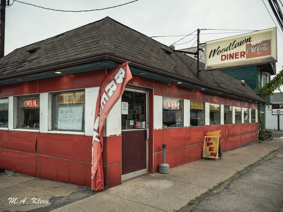 Woodlawn Diner Blasdell, NewYork