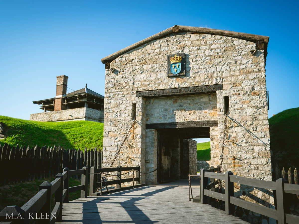 Old Fort Niagara in Youngstown, New York
