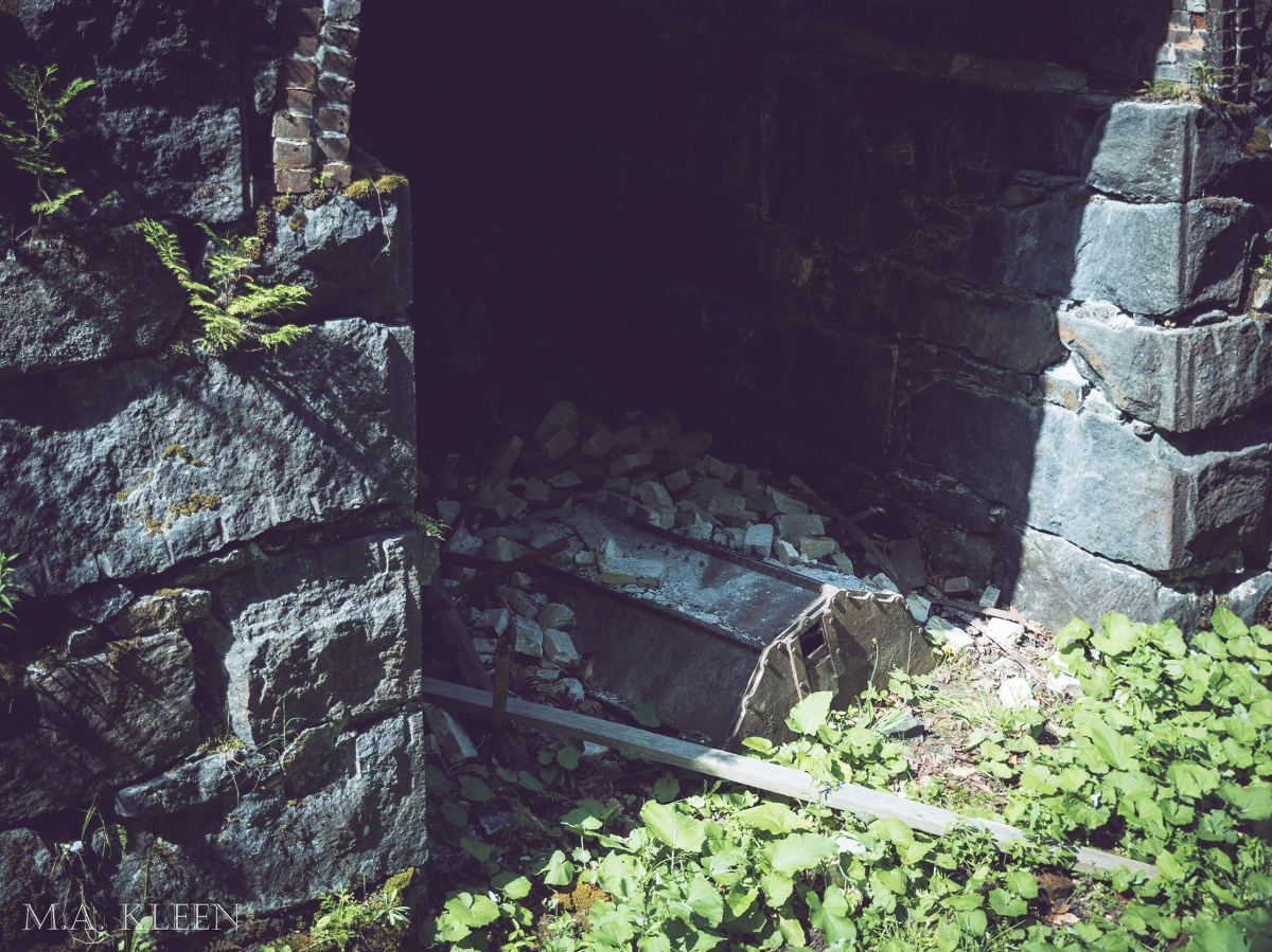 MacIntyre Iron Furnace in Tahawus, New York