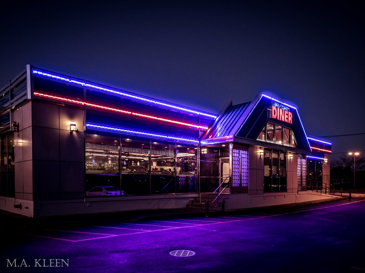 Airport Diner in Bohemia, Long Island, New York