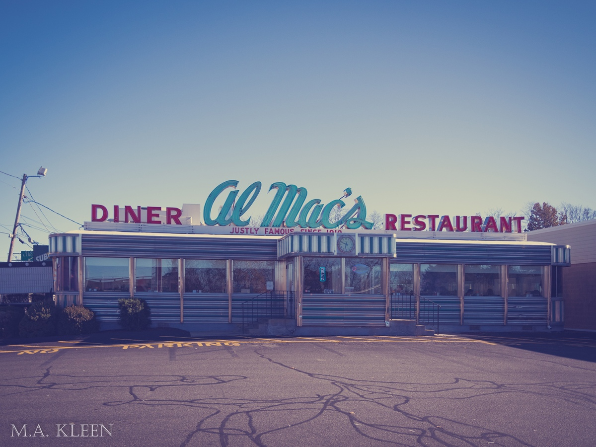 Al Mac's Diner-Restaurant in Fall River, Massachusetts