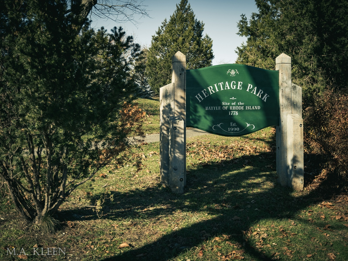 Heritage Park and the Battle of Rhode Island