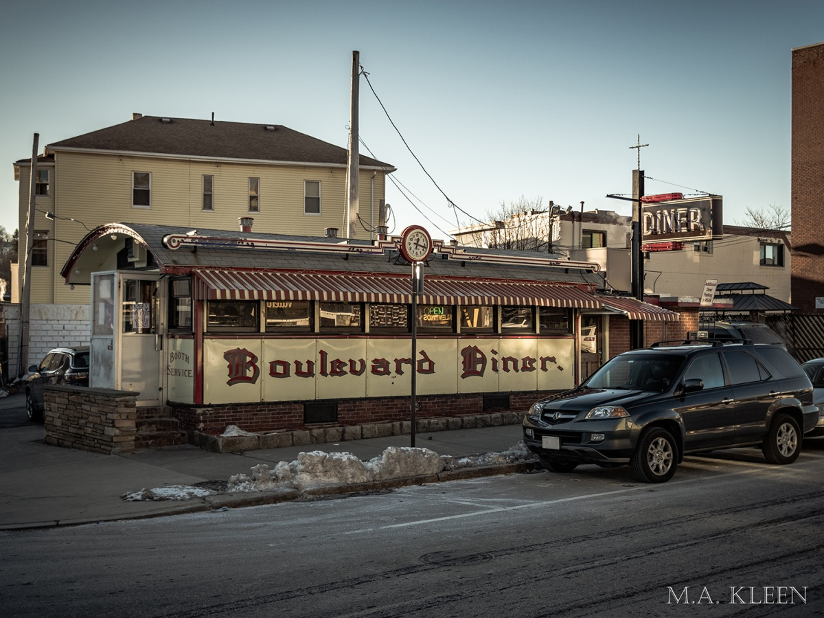 Boulevard Diner in Worcester, Massachusetts