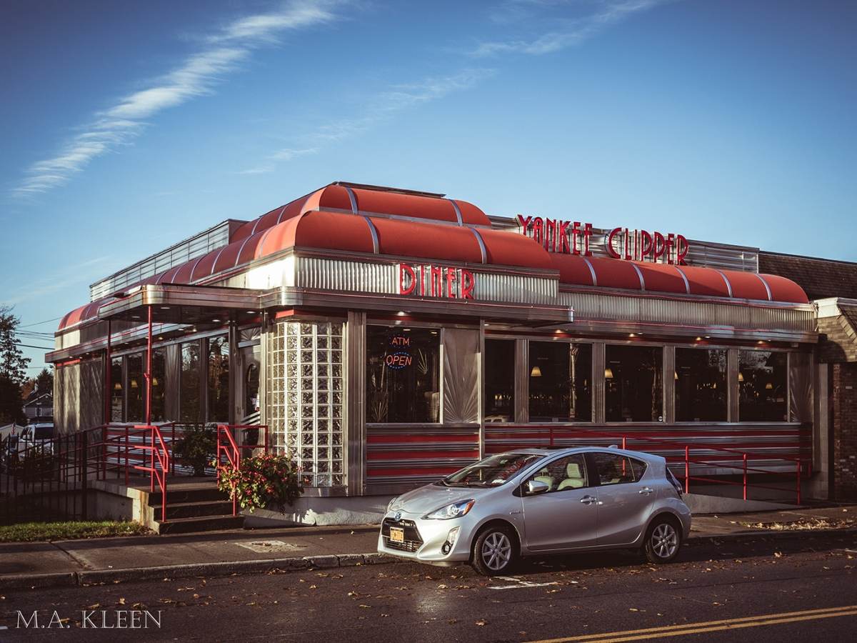 Yankee Clipper Diner in Beacon, New York