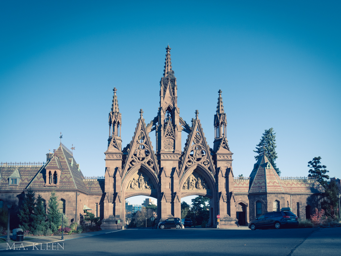 Green-Wood Cemetery in New York City
