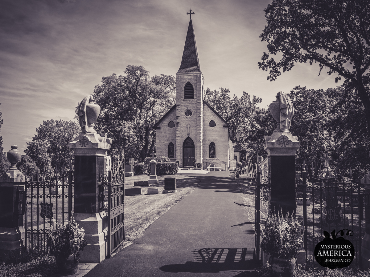 Phantom Monks of St. James of the Sag Church and Cemetery