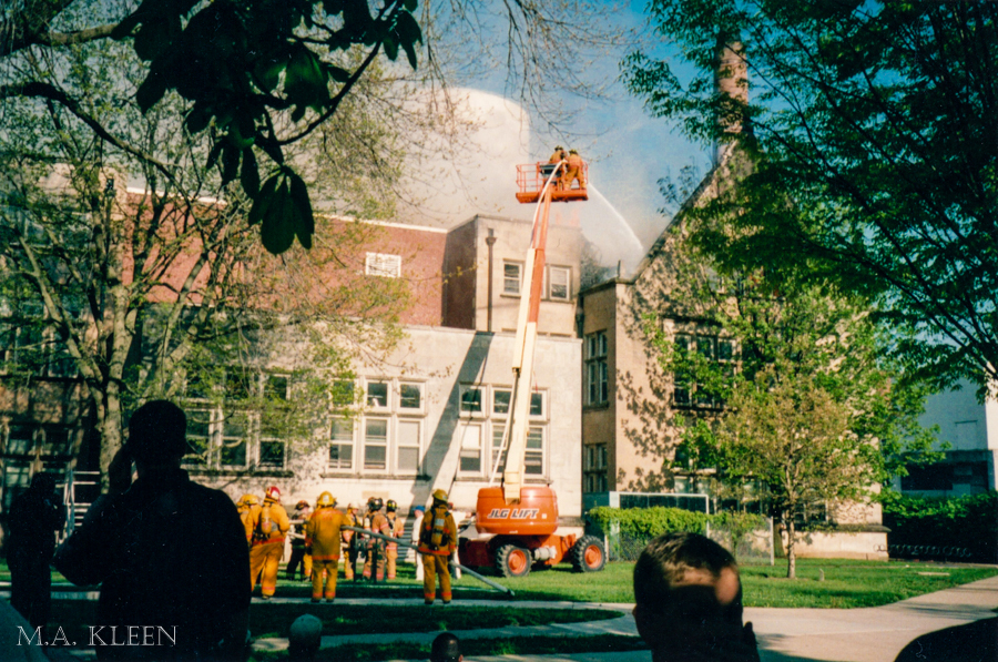 EIU Memories: The Blair Hall Fire of '04