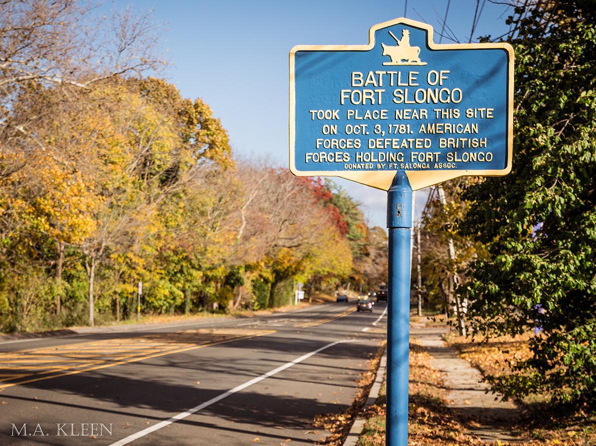 The Battle of Fort Slongo, Oct.1780