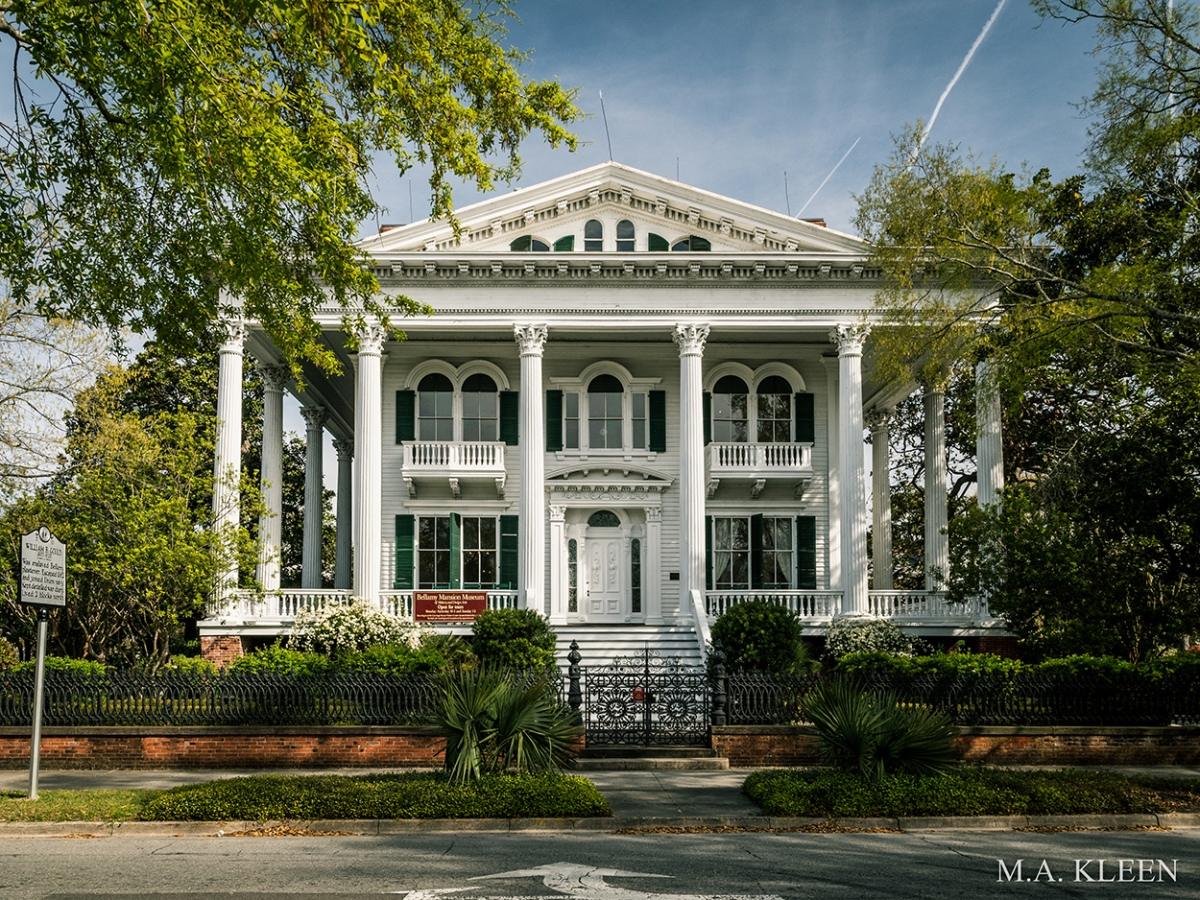Bellamy Mansion in Wilmington, North Carolina