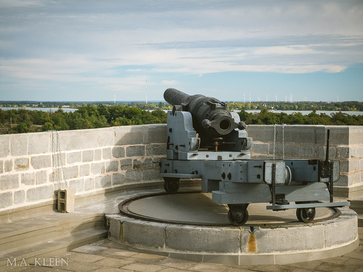 Fort Henry National Historic Site in Kingston, Ontario
