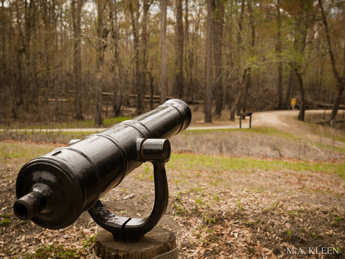 Moores Creek National Battlefield in Pender County, North Carolina