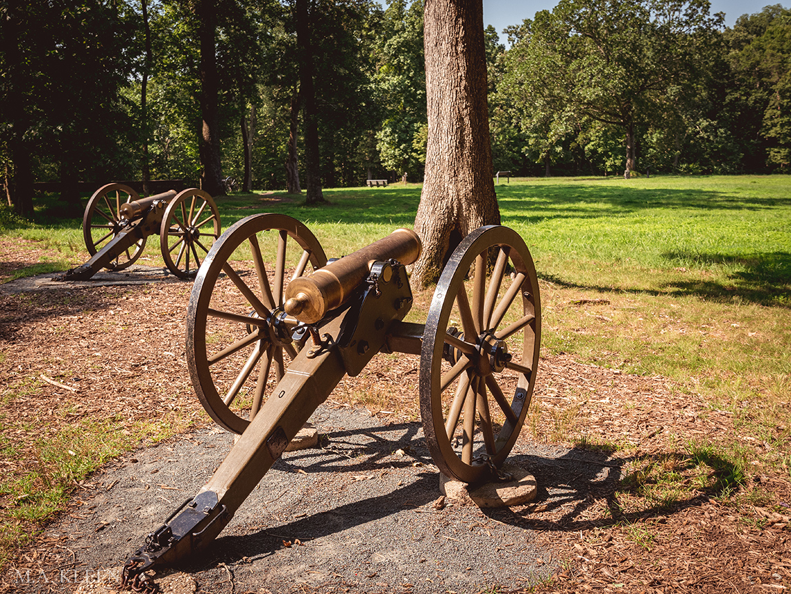 Ball's Bluff Battlefield Regional Park in Leesburg, Virginia
