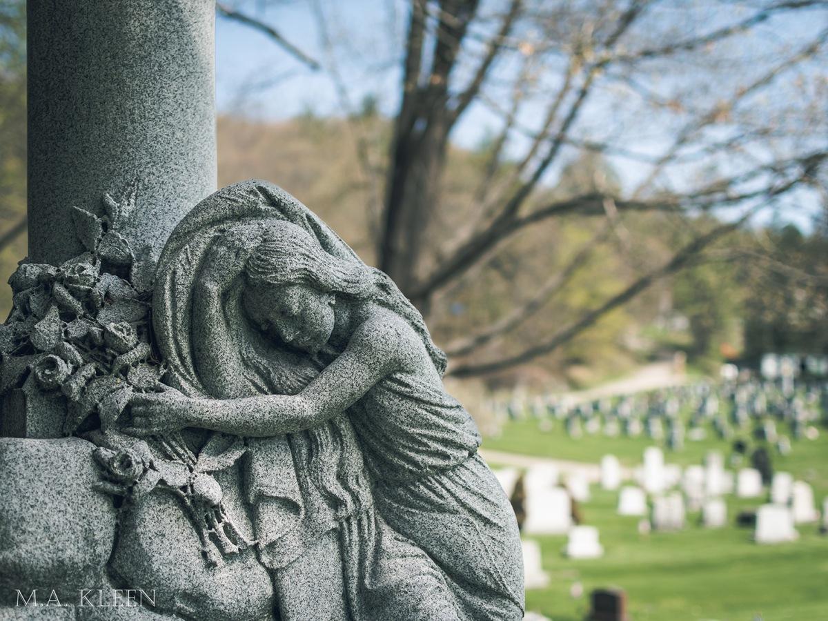 Green Mount Cemetery in Montpelier,Vermont