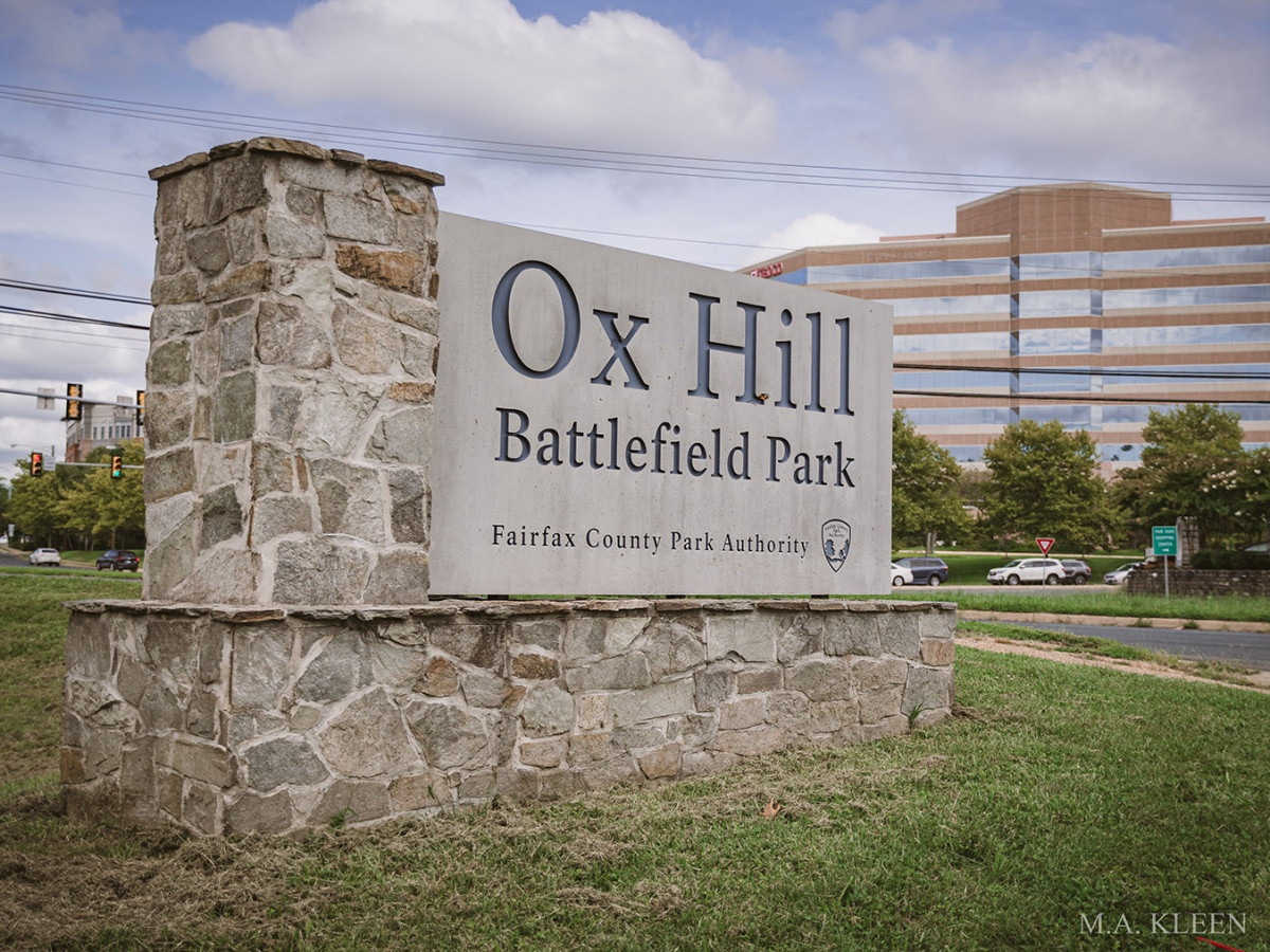Ox Hill Battlefield Park in Fairfax, Virginia