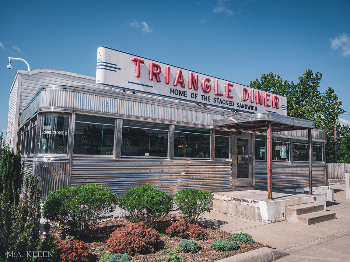 Triangle Diner in Winchester, Virginia