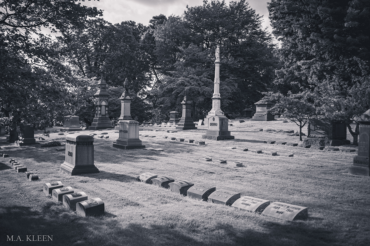 Lake View Cemetery in Cleveland, Ohio