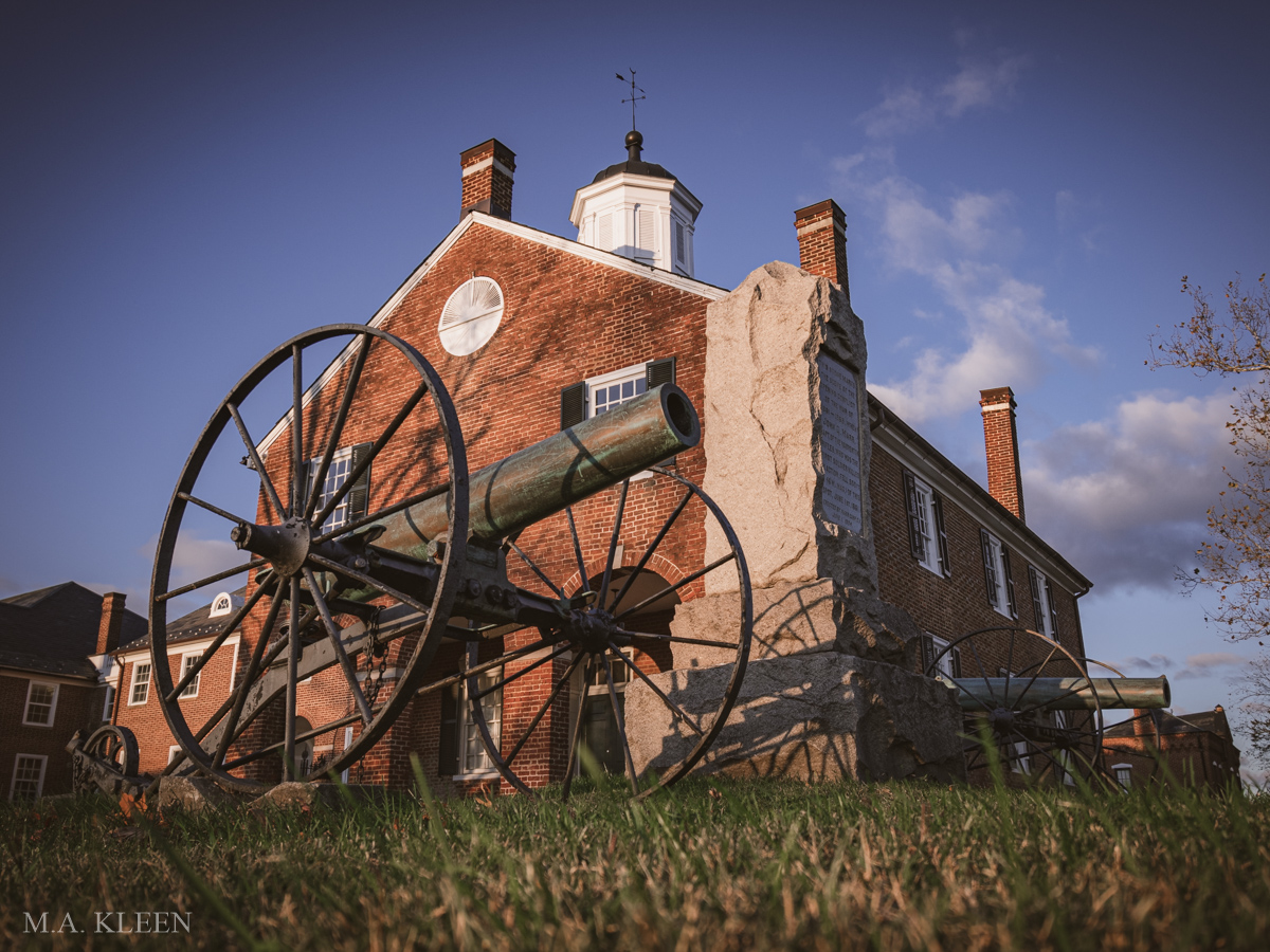 Fairfax Court House Battlefield in Fairfax, Virginia