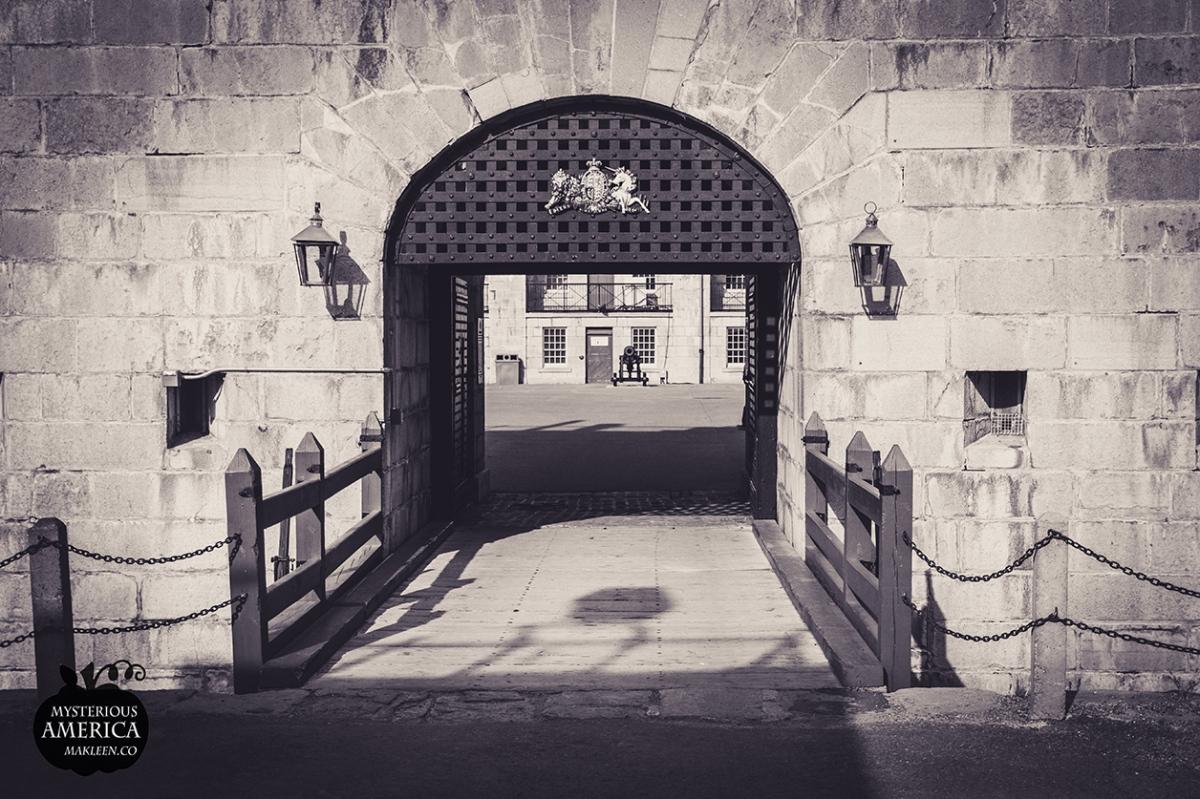 A Ghostly Prisoner Strolls the Parapets at Fort Henry National HistoricSite