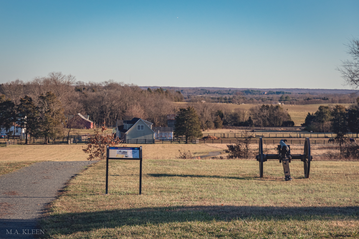 Bristoe Station Battlefield in Prince William County, Virginia