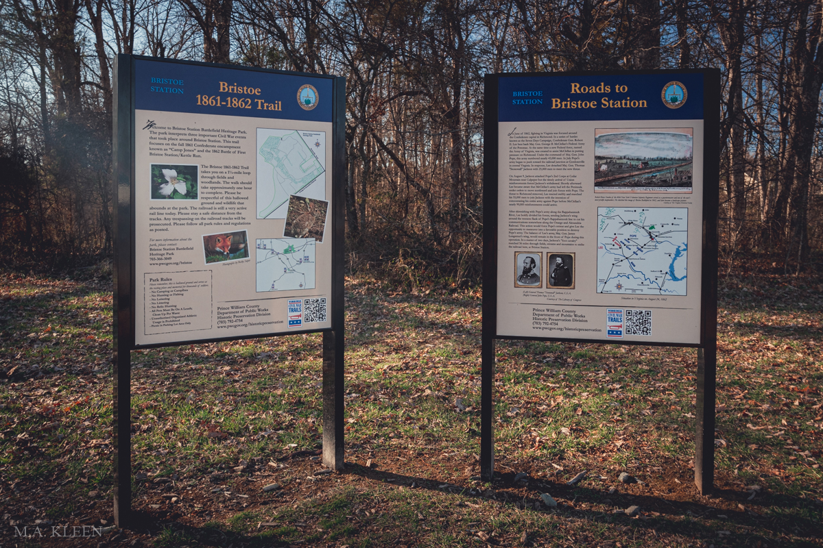 Kettle Run Battlefield in Prince William County,Virginia