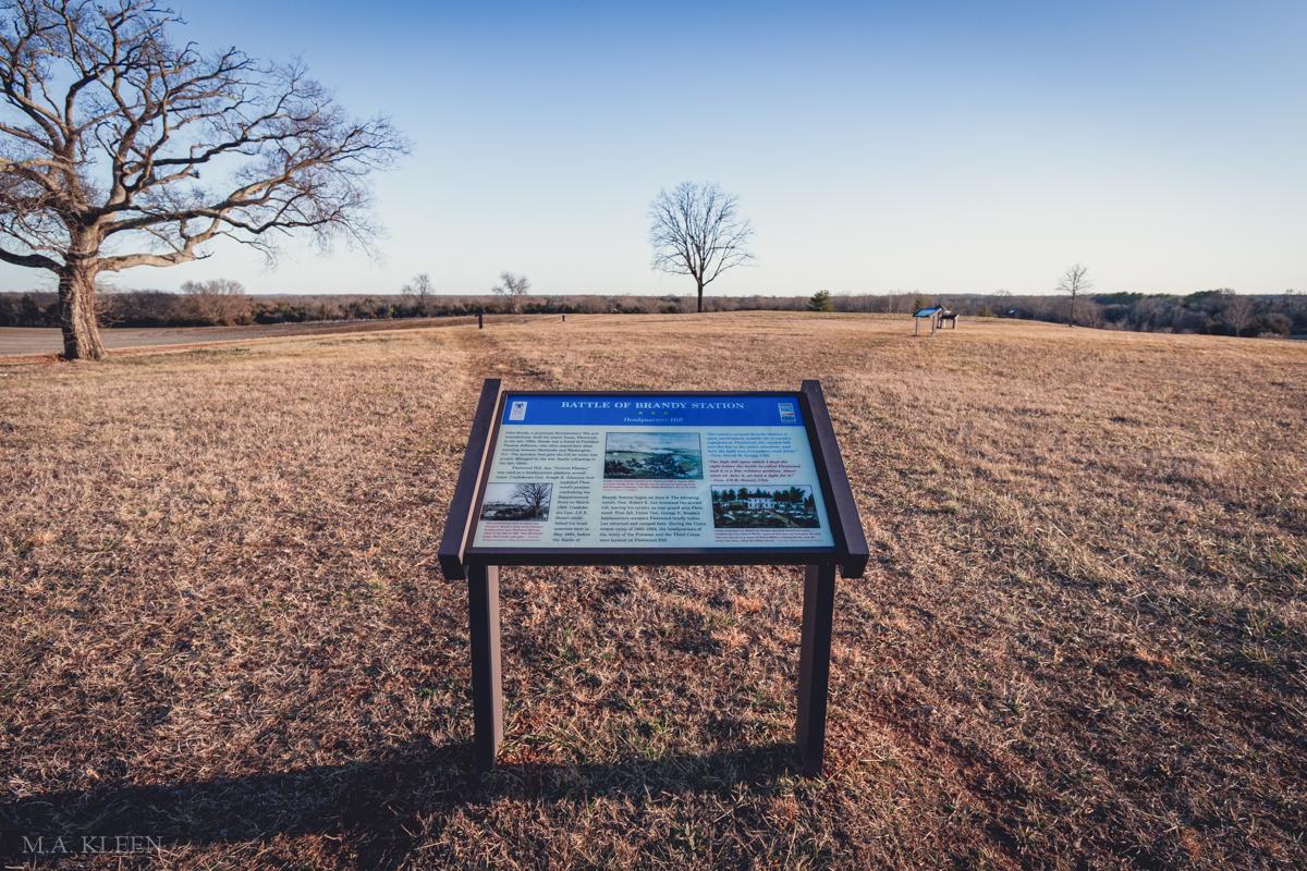 Brandy Station Battlefield Park in Culpeper County,Virginia