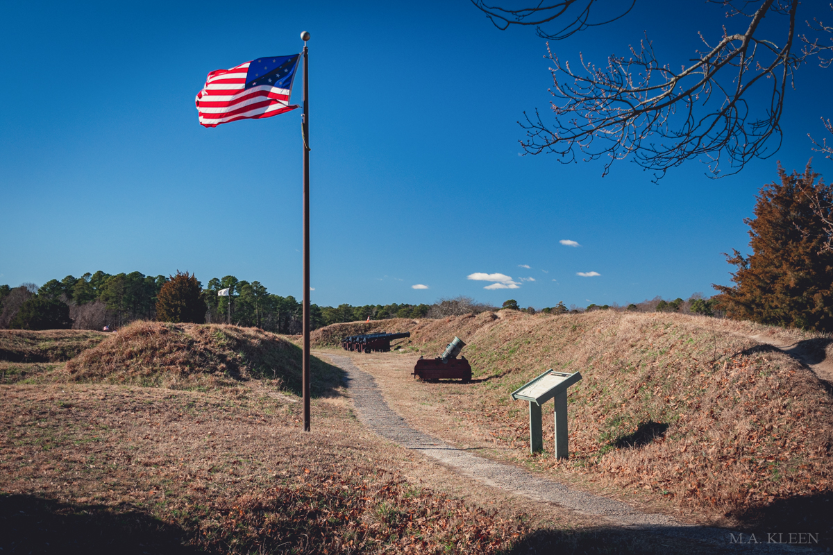Yorktown Battlefield in Colonial National HistoricalPark