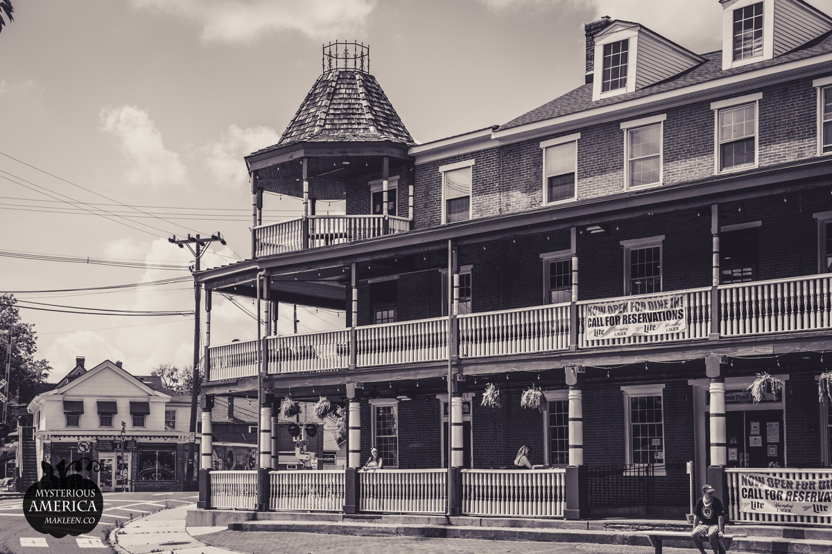 Drink with the Ghost of Poe at the Historic Deer Park Tavern