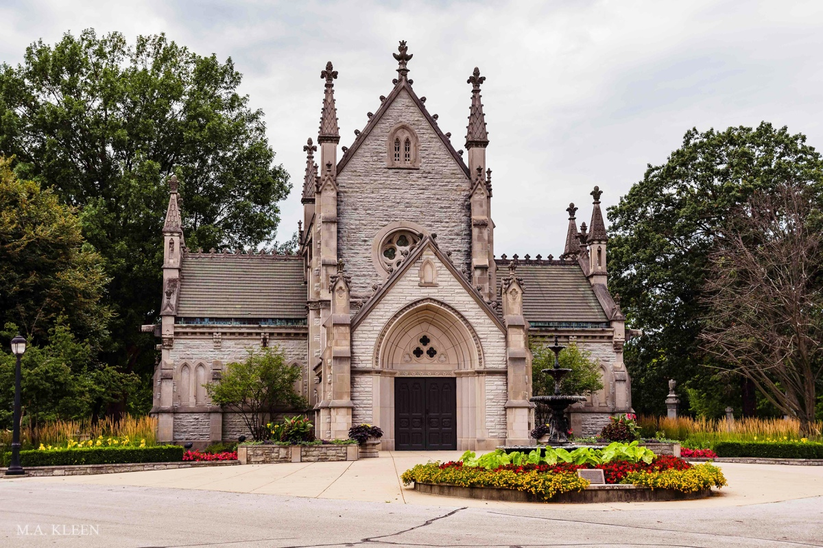 Crown Hill Cemetery in Indianapolis,Indiana