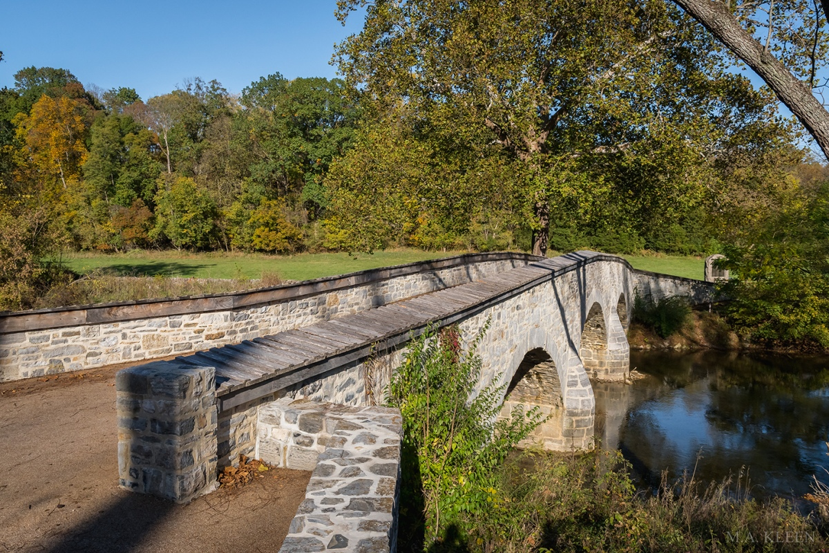 Burnside's Bridge at Antietam National Battlefield, 5831 Dunker Church Road outside Sharpsburg, Maryland