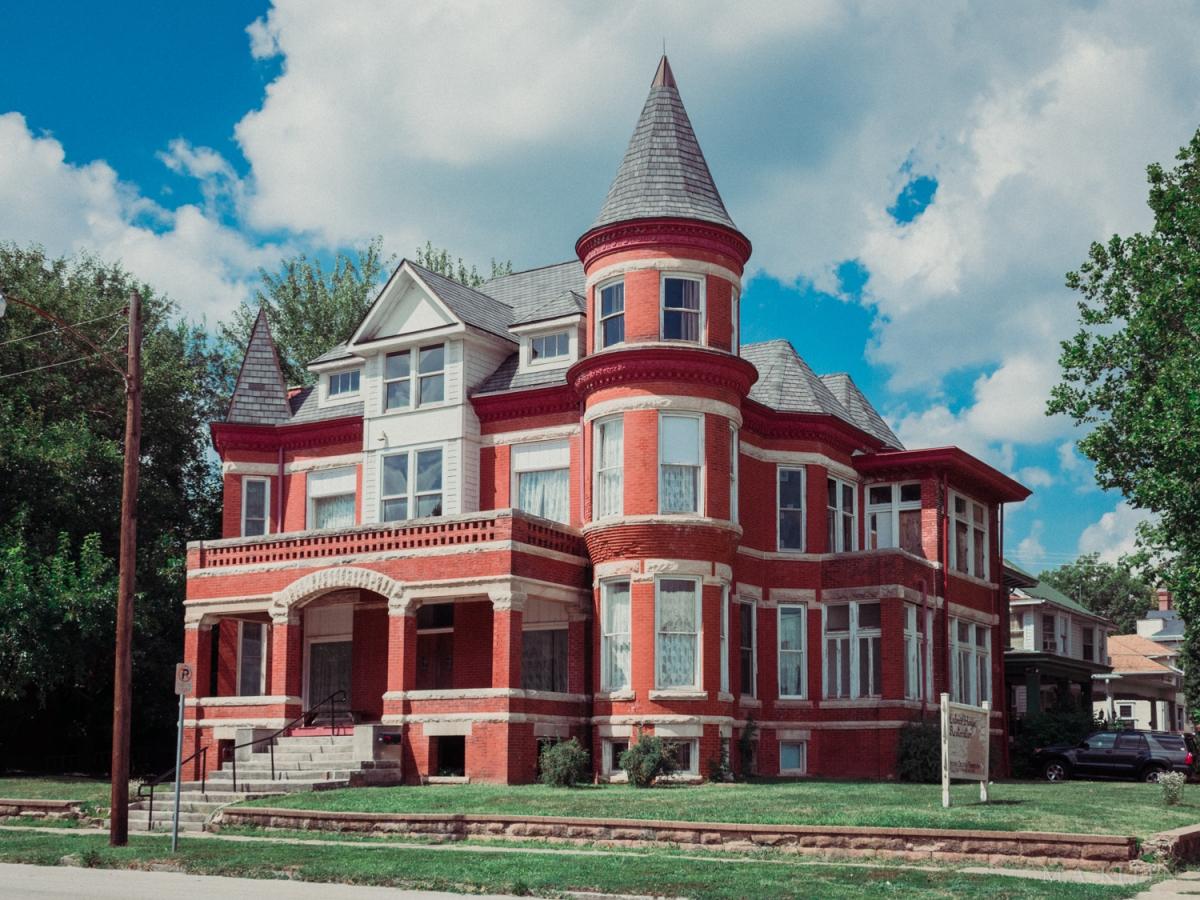 Culver House, 412 W. Prairie Avenue in Decatur, Illinois.