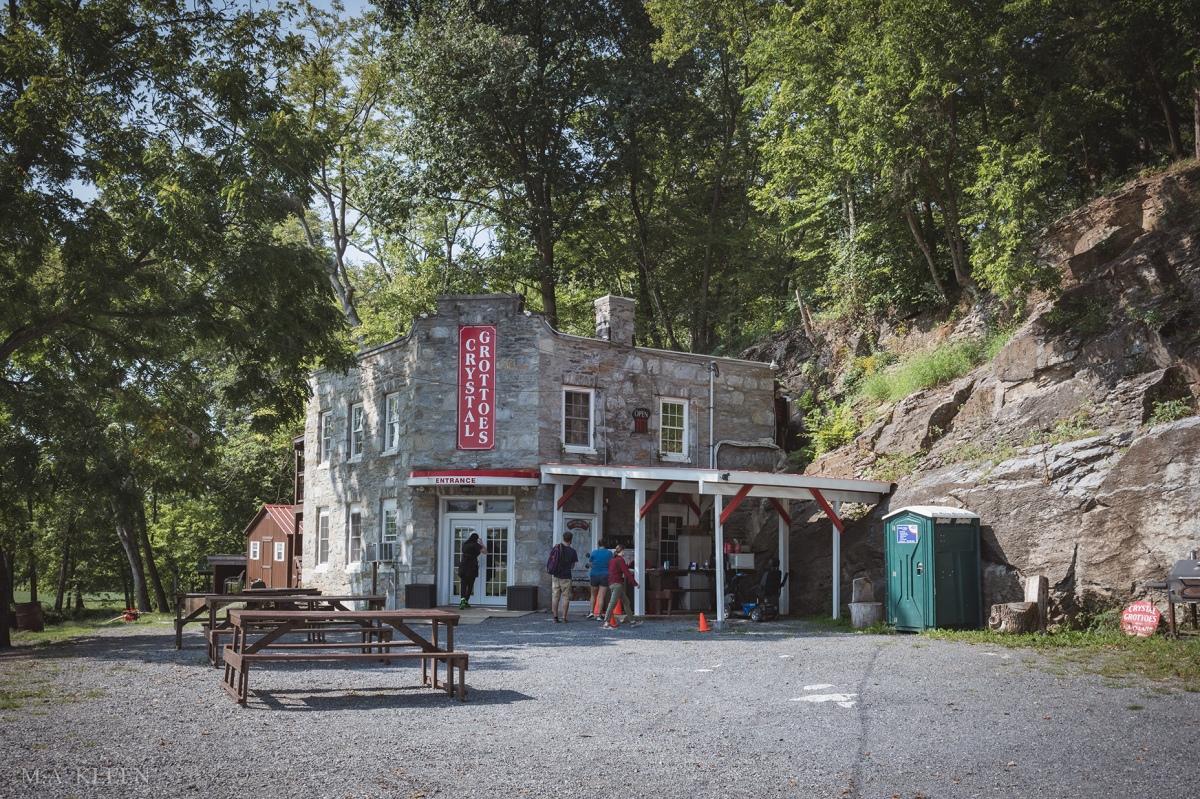 Crystal Grottoes Caverns, 19821 Shepherdstown Pike in Boonsboro, Washington County, Maryland.