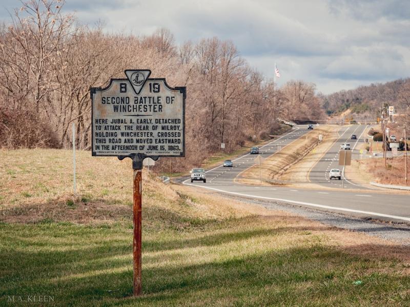 Second Winchester Battlefield in Winchester, Virginia