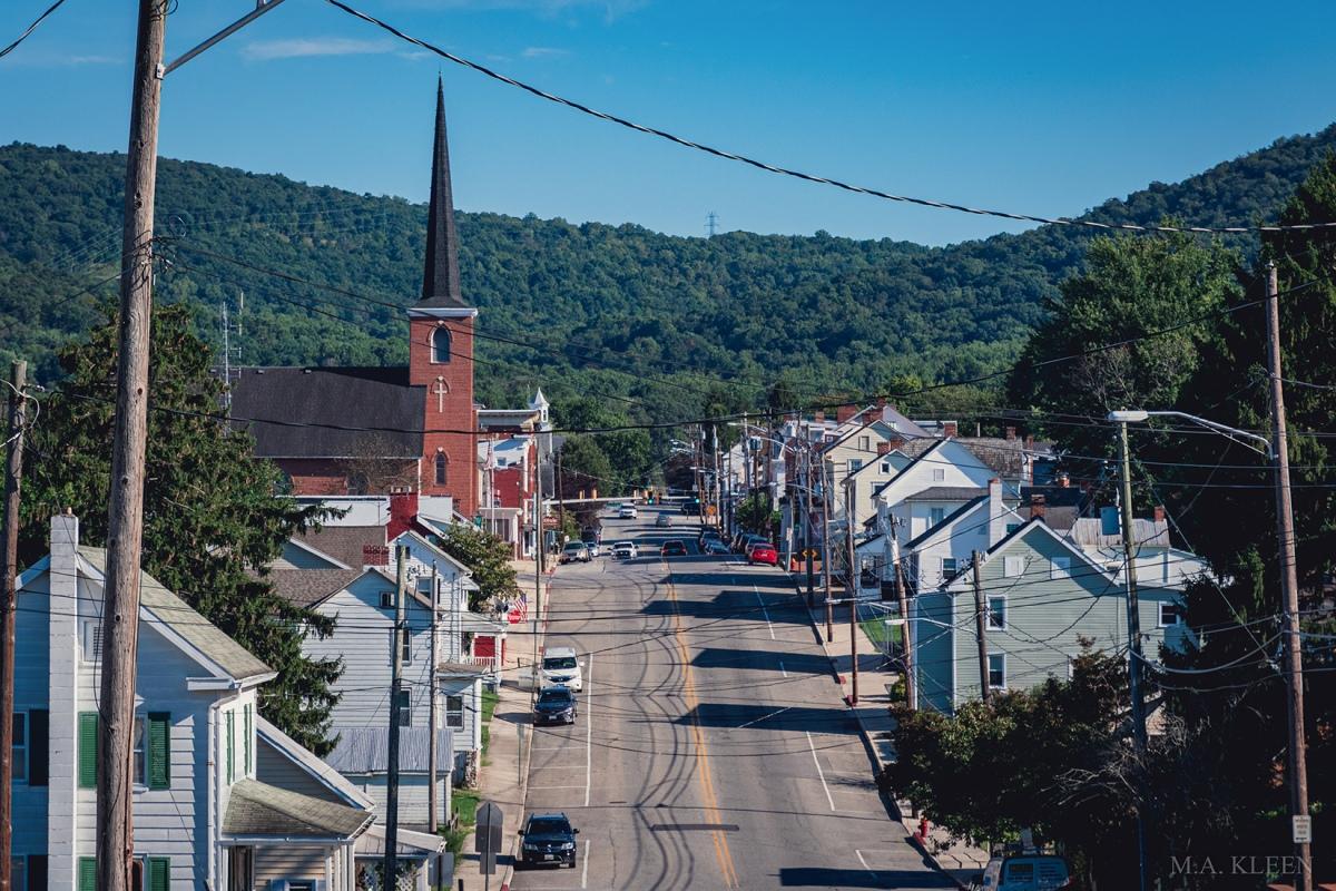 Smithburg, Washington County, Maryland was the scene of a Civil War skirmish on July 5, 1863