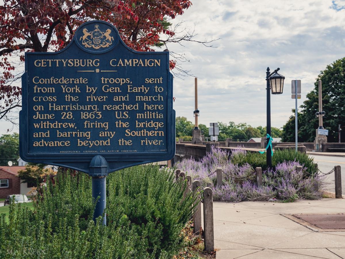 Wrightsville Battlefield in York County, Pennsylvania.